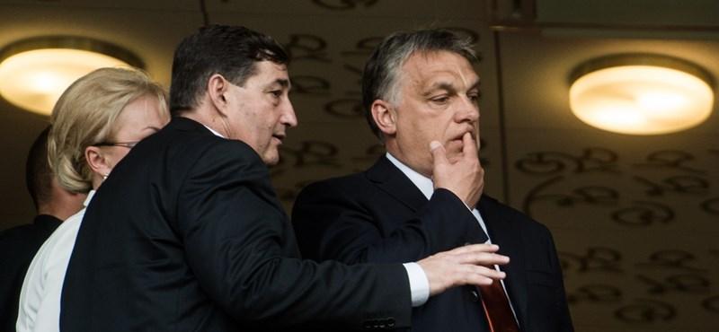 Micsoda év lesz: ma újabb 42 milliárd forintot nyert Mészáros Lőrinc