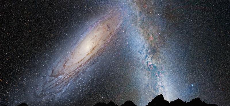 Neki fog ütközni a galaxisunknak egy másik, ez elkerülhetetlen