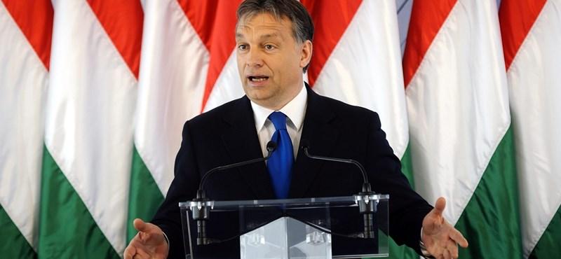 Orbán: kísérleti laboratórium lett Magyarország
