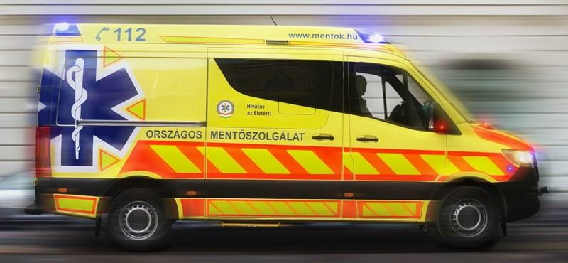 Több kilométeres torlódás van az M0-son egy baleset miatt