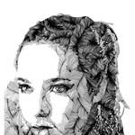 Különleges portrék vonalakból