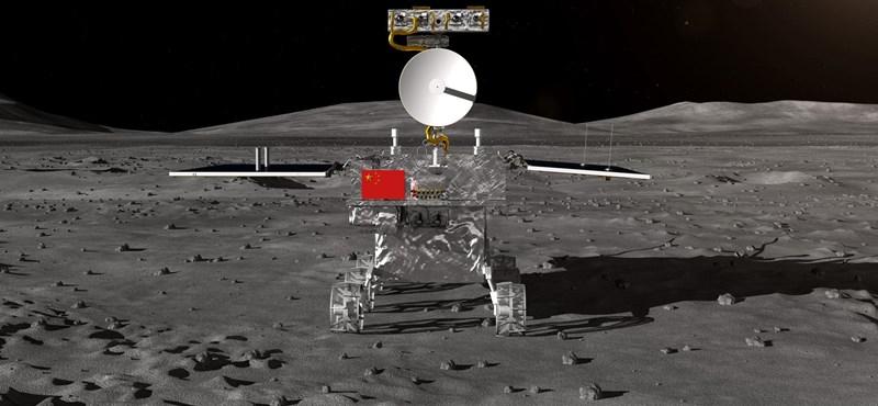 Leszállt a Hold távoli oldalán egy kínai űrszonda