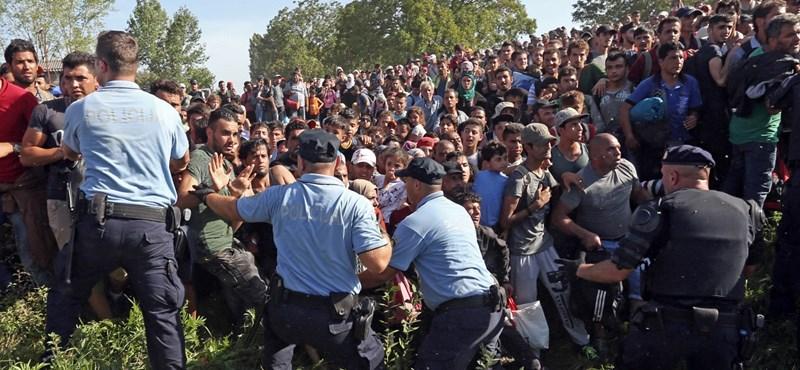 Horvátország lezárta a Szerbia felőli határt