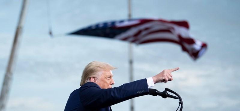 A távozó Trump még egyet-kettőt odacsapott Kínának