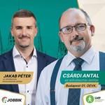 A Jobbik LMP-s politikust támogat a Belvárosban