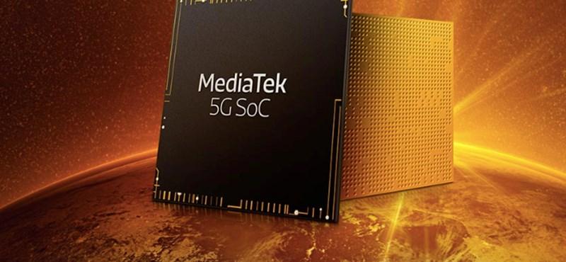 Tényleg nem pihen: újabb 5G-s lapkakészletet mutat be a MediaTek