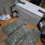 Tizenötmillió forint értékű kábítószert foglaltak le Óbudán