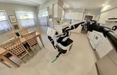 Az hagyján, hogy a Toyota robotja kitakarítja a lakást, de még szelfizik is közben