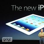 Bréking: itt az új iPad 3