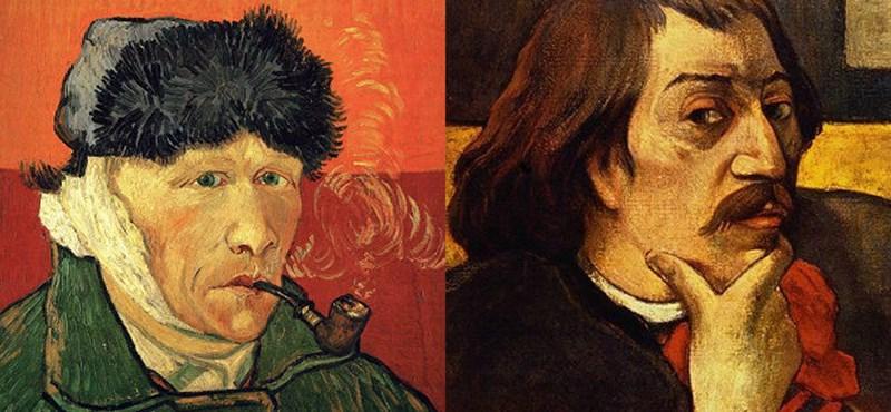 A tragikus barátság, melynek hatására Van Gogh levágta a fülét