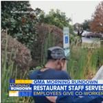 Nem akárhogy vigasztalták kollégái a szomorú férfit, akinek ellopták az autóját – videó