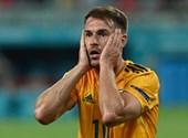 Ramseynek három sima helyzet kellett, de végre berúgta - kövesse velünk a Törökország-Wales Eb-mérkőzést