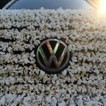 Művészet-e egy pattogatott kukoricába mártott VW Golf?