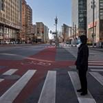 Egy fotós képei megmutatják, hogyan tért vissza az emberi élet a nagyvárosi utcákra