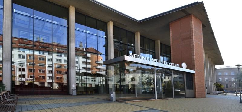 A Semmelweis Egyetem lett a világ 457. legjobb felsőoktatási intézménye