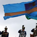 Székely zászlóra cseréltek egy román zászlót ismeretlenek Sepsiszentgyörgyön