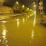 Ömlött a víz az éjjel Kispesten