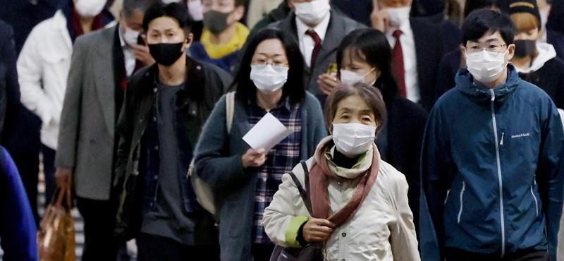 Új koronavírus-variánst találtak Japánban