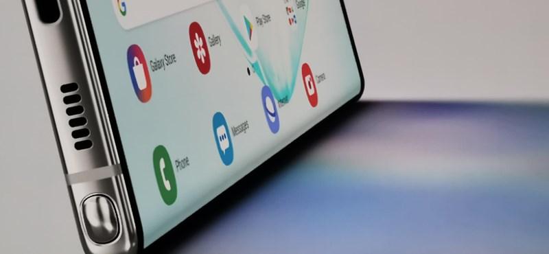 Nagyon rendben van a Note10+ képernyője – mondják a tesztlaborban