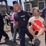 Felmentették a Közgép udvarán tüntető PM-eseket