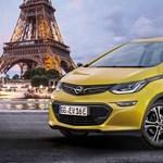 Párizsban mutatják be az Opel új elektromos autóját