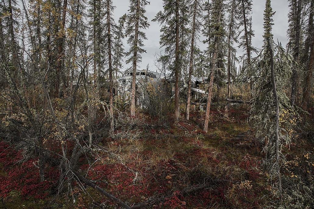 NE HASZNÁLD!! nagyításhoz kértük a fotóstól - e. lezuhant repőlő, happy end - happy end 11 1, Fairchild C-82, Jan 1965, alaska