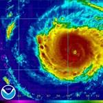 Elérte Floridát a hurrikán