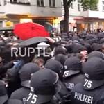 Berlinben megint odatették magukat a szélsőbalosok május elsején