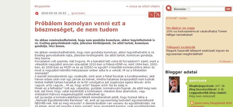 Gyurcsány: a Fidesz szkanderben most erősnek érzi magát
