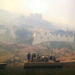 Ezreket evakuáltak Athén körül az erdőtüzek miatt