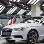 Elindult az új győri Audi kabrió gyártása