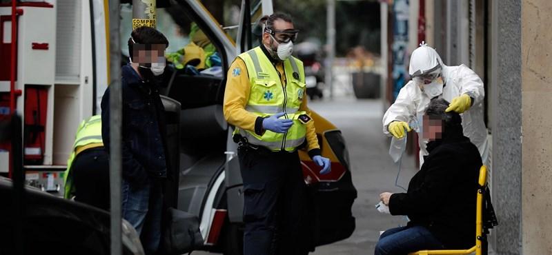 Kilencezer fölött a járvány áldozatainak száma Spanyolországban