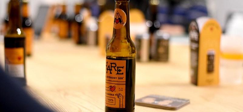 Sáros sörrel a tiszta vízért