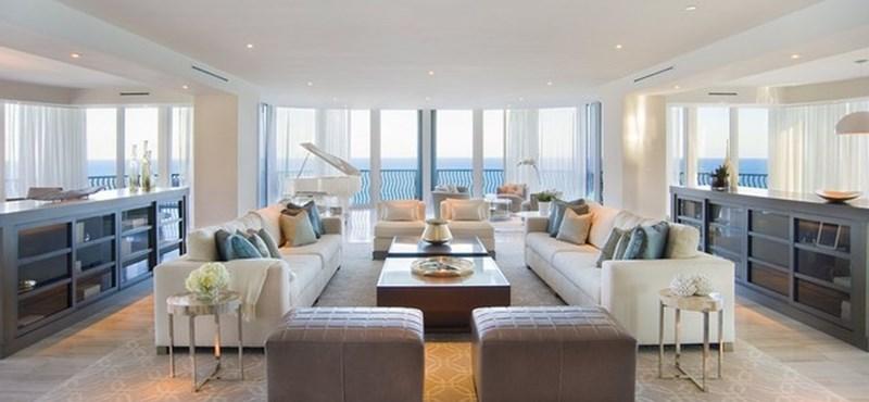 Lenyűgöző penthouse-t árul a milliomos Miami Beachen