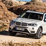 Kis külső változás, új motor és kisebb fogyasztás az új BMW X3-ban
