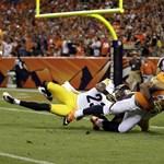 Őrületes végjátékok, meglepő eredmények az NFL-ben - összefoglaló