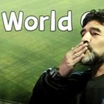 """Maradona elárulta, miért nevezte gólját """"Isten kezének"""""""