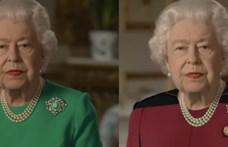 II. Erzsébet királynő zöld ruhája kirobbantotta a Photoshop-háborút
