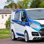 Íme egy Ford Transit egy raliautó szerelemgyereke