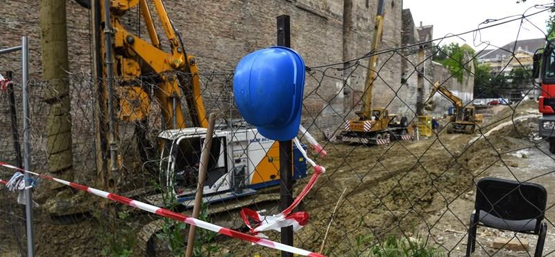 A budapesti lakásépítések több mint felét nem tudják határidőre befejezni
