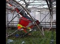 Lezuhant egy motoros sárkányrepülő Forráskútnál, a pilóta meghalt