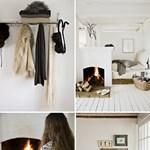Letisztult skandináv téli otthon