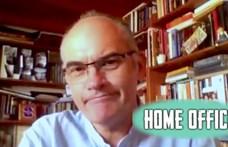 """Gundel Takács Gábor a Home office-ban: """"Háborúban viszonylag szerény a demokrácia mértéke"""""""