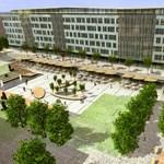 Új budapesti főtér: Szeptemberben nyit a Nyugatinál az Eiffel Tér Irodaház