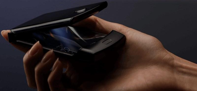 Kiszivárgott fotó: ilyen a Motorola nagy klasszikus telefonjának most érkező, összehajtható kiadása