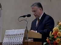 Így ült ki az áhitat Orbán Viktor arcára