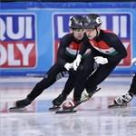 Súlyos sérülést okozott a korcsolyapenge a gyorskorcsolyázók országos bajnokságán