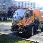 Újabb villamosbaleset Budapesten - fotók