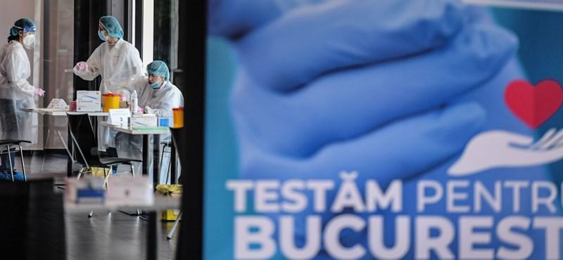 A sárga kategóriájú Romániában gyorsuló ütemben terjed a koronavírus