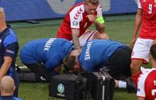 Összeesett a pályán Christian Eriksen, újraélesztést végeztek rajta, de állapota stabil